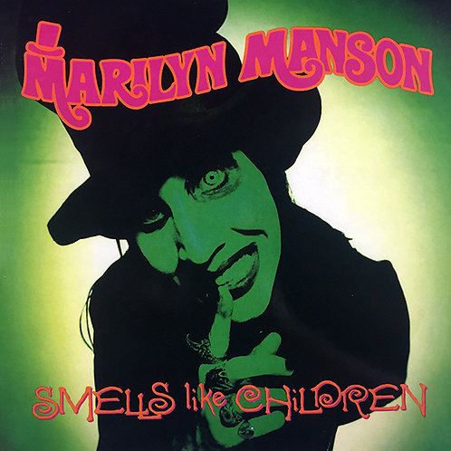 MARILYN MANSON LP Smells Like Children (With Poster)