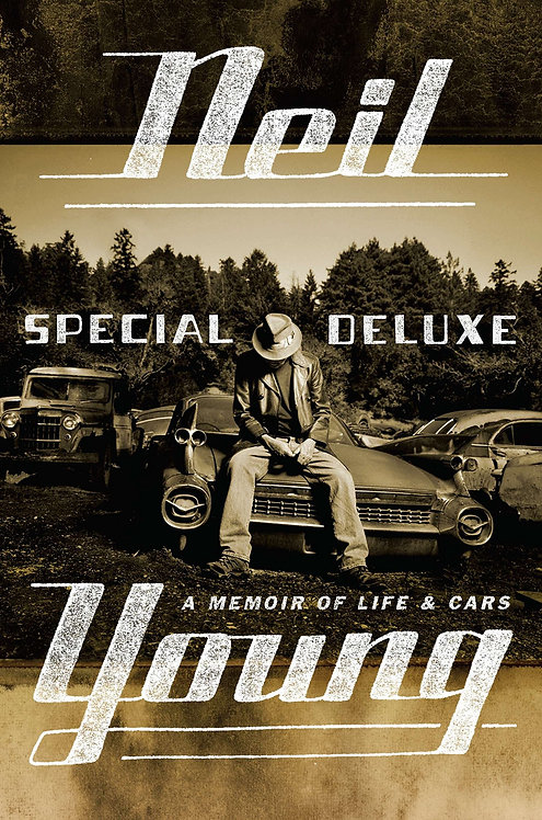 NEIL YOUNG BOOK Special Deluxe (English)