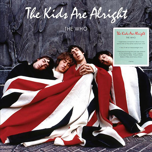 THE WHO 2xLP The Kids Are Alright