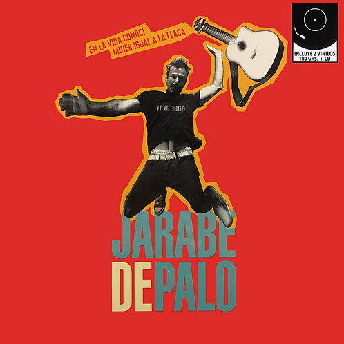 JARABE DE PALO 2xLP+CD En La Vida Conocí Mujer Igual a La Flaca (Grandes Éxitos)