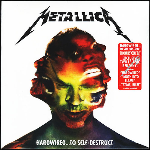 METALLICA 2xLP Hardwired...To Self-Destruct (Red Coloured Vinyls)