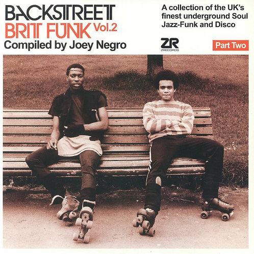 VARIOS 2XLP Backstreet Brit Funk Vol. 2