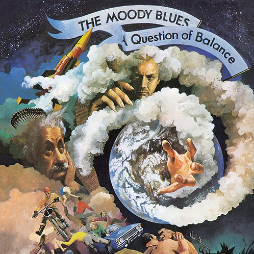 THE MOODY BLUES CD+DVD A Question Of Balance + The Lost Performance