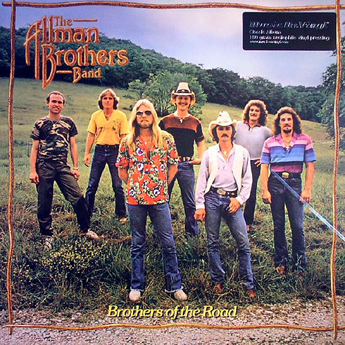 ALLMAN BROTHERS BAND LP Brothers Of The Road