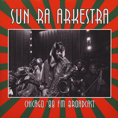 SUN RA ARKESTRA 2xLP Chicago '88 FM Broadcast
