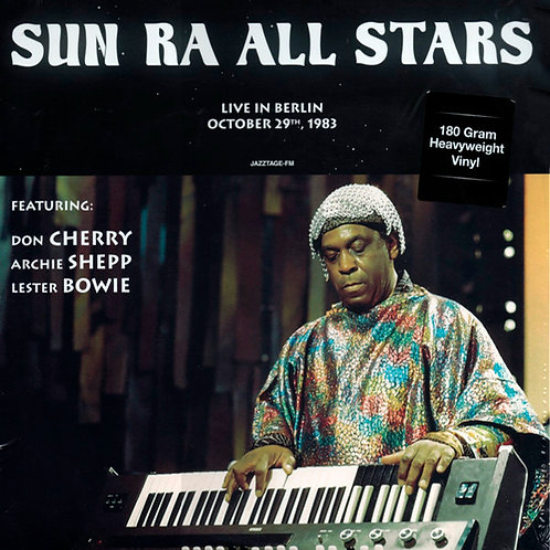 SUN RA ARKESTRA LP Live In Berlin October 29th, 1983