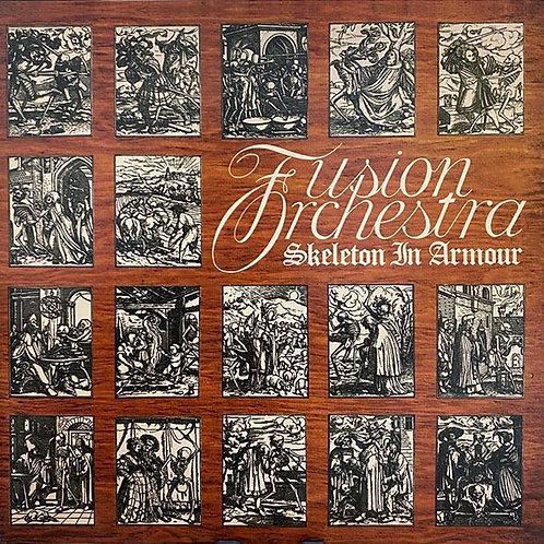 FUSION ORCHESTRA LP Skeleton In Armour (Progressive Rock) Red Colour Gatefold