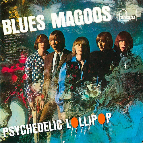 THE BLUES MAGOOS CD Psychedelic Lollipop