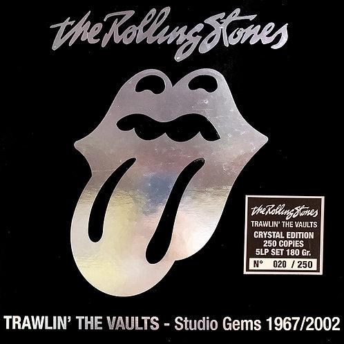 ROLLING STONES BOX SET 5xLP TRAWLIN' THE VAULTS STUDIO GEMS 1967/2002 (CRYSTAL)