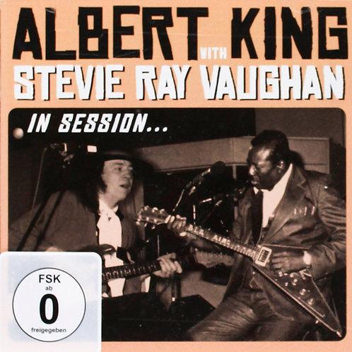 ALBERT KING STEVIE RAY VAUGHAN CD+DVD In Session