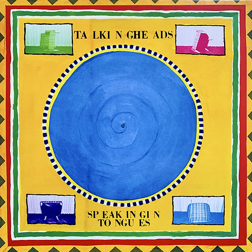 TALKING HEADS LP Speaking In Tongues (Blue Coloured Vinyl)