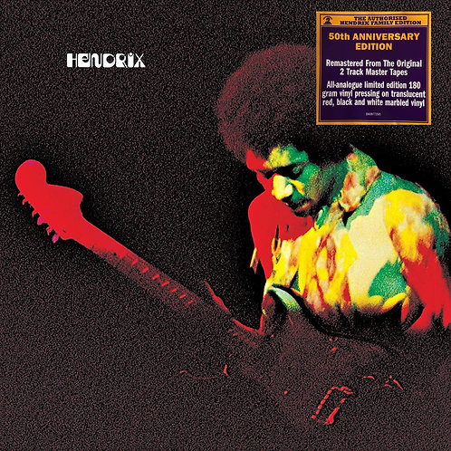 JIMI HENDRIX LP Band Of Gypsys (50th Anniversary Edition Coloured Vinyl)