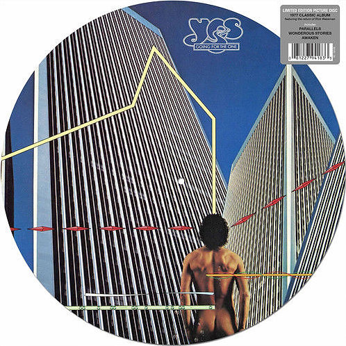 YES LP Going For The One (Picture Disc)
