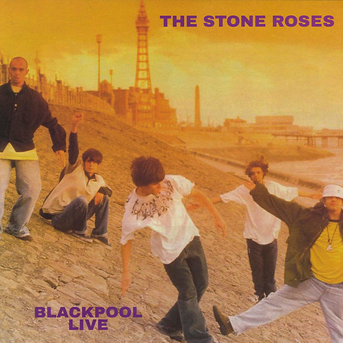 THE STONE ROSES LP Blackpool Live 1989