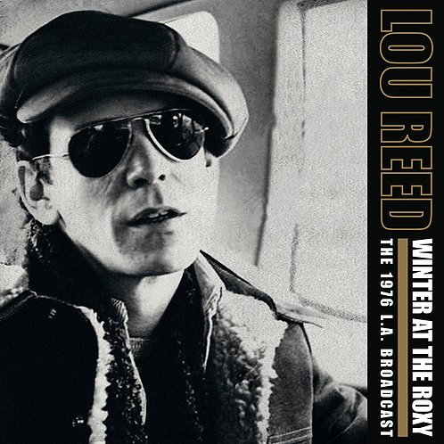 LOU REED 2xLP Winter At The Roxy (Clear Coloured Vinyl)