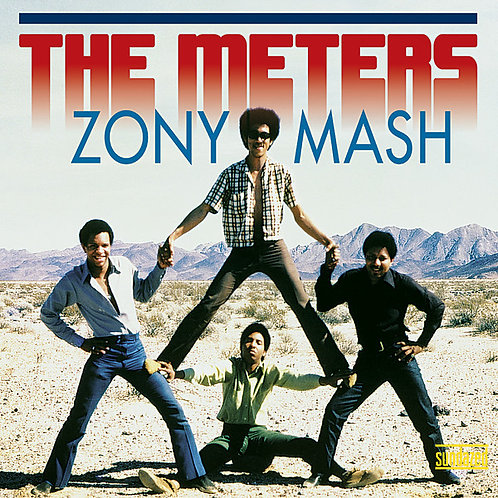 THE METERS LP Zony Mash (Blue Coloured Vinyl)
