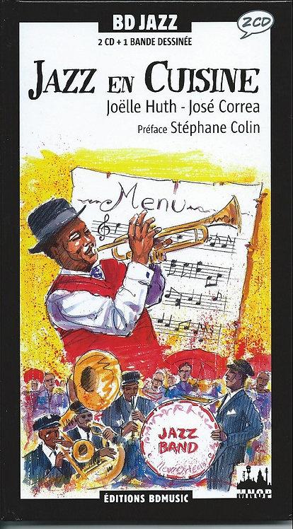 VARIOUS 2xCD BD Jazz En Cuisine (Comic Book Longbox)