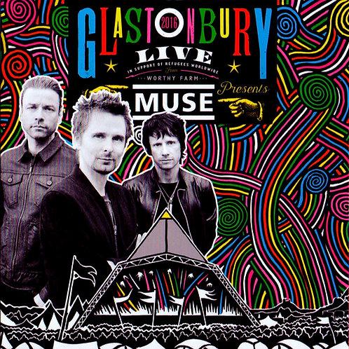 MUSE 2xCD Glastonbury Live 2016