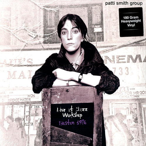 PATTI SMITH GROUP LP Live At Jazz Workshop Boston 1978
