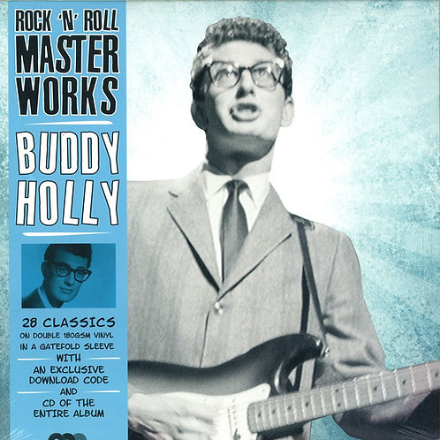 BUDDY HOLLY 2xLP+CD Rock 'N' Roll Master Works