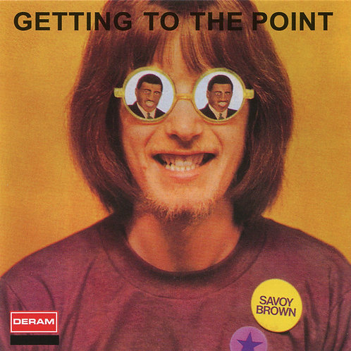 SAVOY BROWN CD Getting To The Point