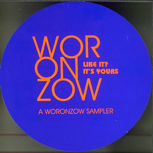 VARIOS CD Like It? It's Yours A Woronzow Sampler