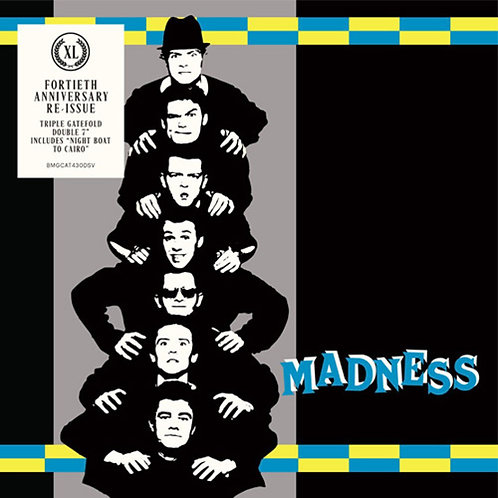 "MADNESS 2x7"" Work, Rest & Play EP (40th anniversary) (RSD Drops 2020)"