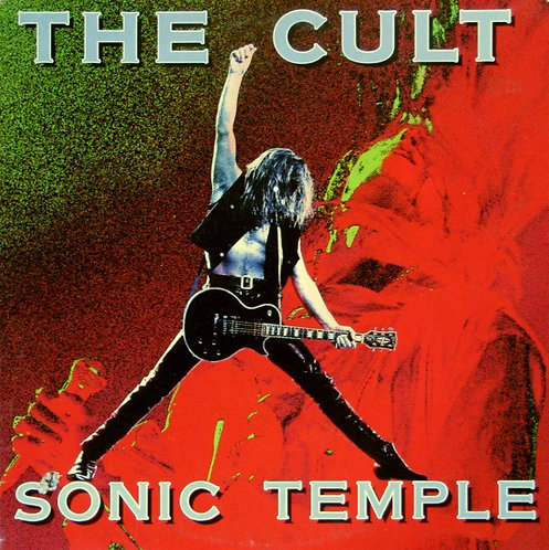 THE CULT CD Sonic Temple