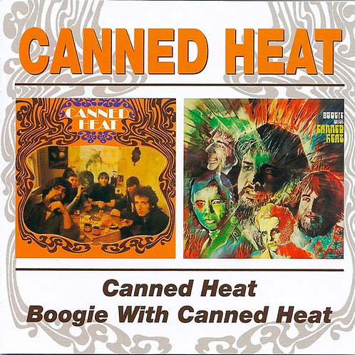 CANNED HEAT CD Canned Heat / Boogie With