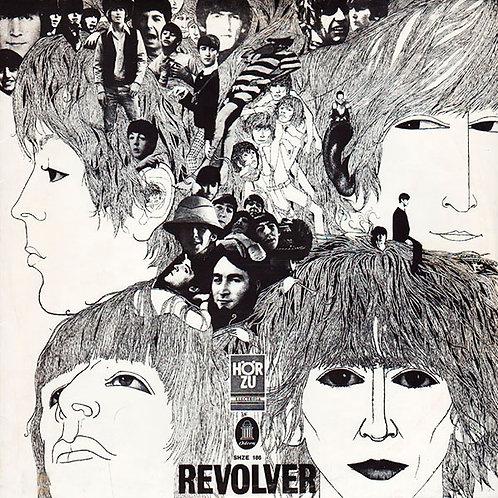 BEATLES LP Revolver (Hör Zu Germany Reissue)