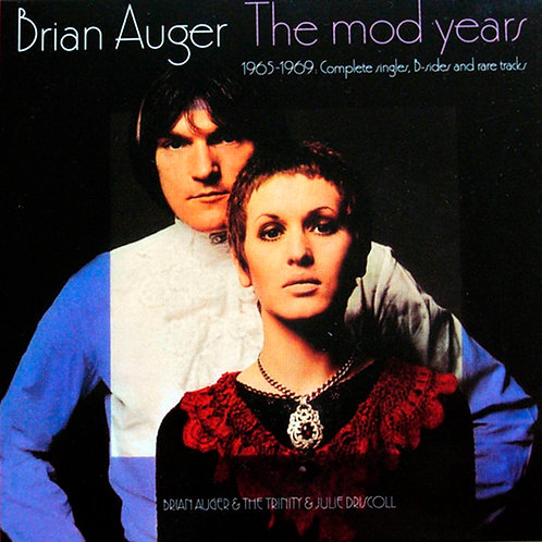 BRIAN AUGER CD The Mod Years: 1965-1969: Complete Singles, B-Sides And Rare