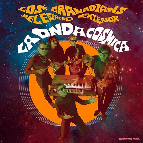 LOS GRANADIANS DEL ESPACIO LP+Cd La Onda Cosmica