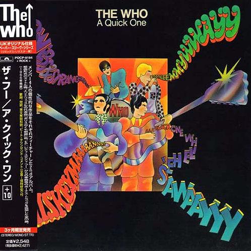 THE WHO CD A Quick One + 10 Bonus Tracks (Japan)