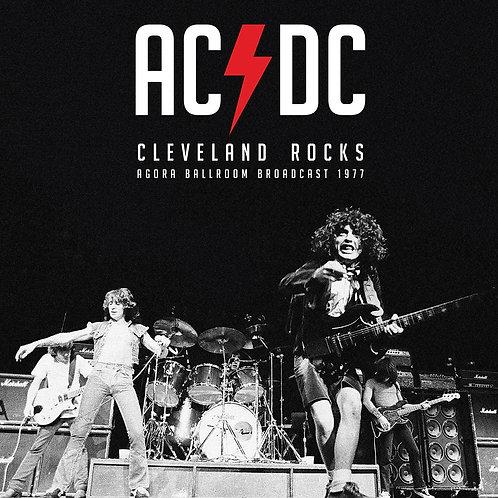 AC/DC LP Cleveland Rocks - Agora Ballroom Broadcast 1977 (Red Coloured Vinyl)