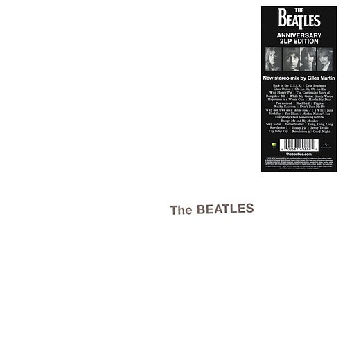 BEATLES 2xLP White Album (50th Anniversary Edition)