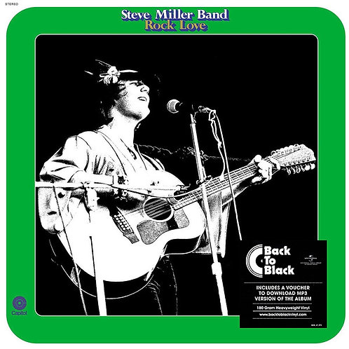 STEVE MILLER BAND LP Rock Love