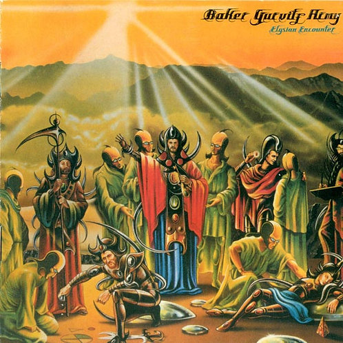 THE BAKER GURVITZ ARMY CD The Baker Gurvitz Army (Vinyl Replica Mini Lp