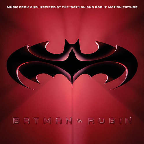 VARIOUS 2xLP Batman & Robin (Red & Blue Coloured Vinyls) (RSD Drops September)