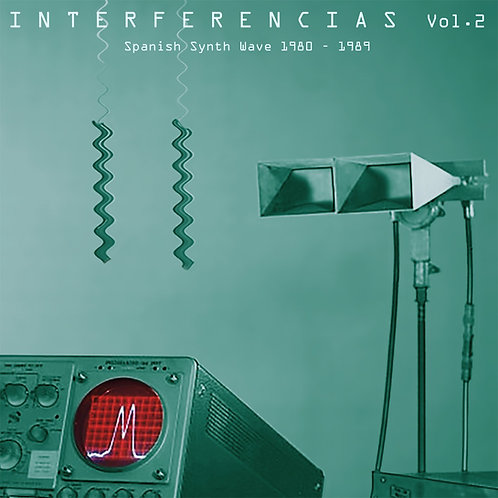 VARIOS 2xLP Interferencias Vol. 2 - Spanish Synth Wave 1980-1989