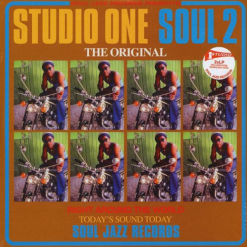 VARIOUS 2xLP Studio One Soul 2