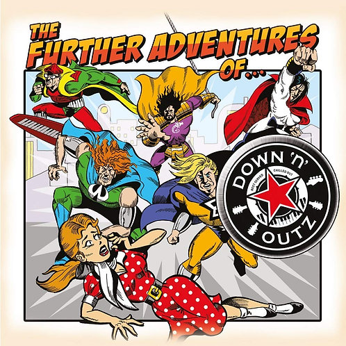 JOE ELLIOTT'S DOWN 'N' OUTZ LP The Further Adventures Of....