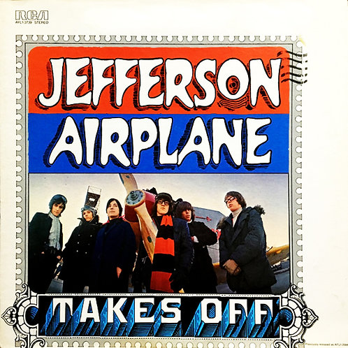 JEFFERSON AIRPLANE CD Takes Off (Mini Lp Replica) + Bonus Tracks
