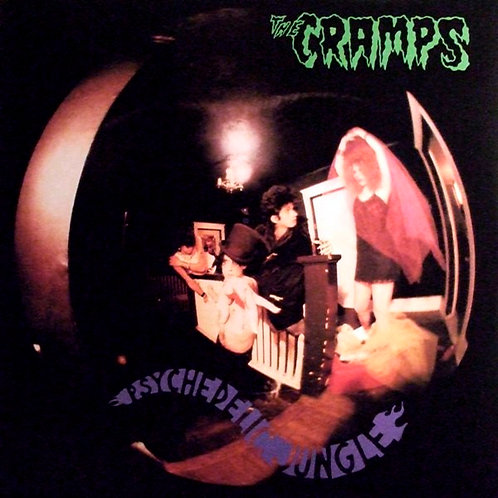 THE CRAMPS LP Psychedelic Jungle