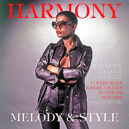 VARIOS 2xLP Harmony, Melody & Style Lovers Rock