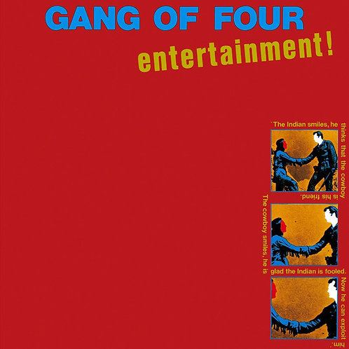 GANG OF FOUR LP Entertainment!