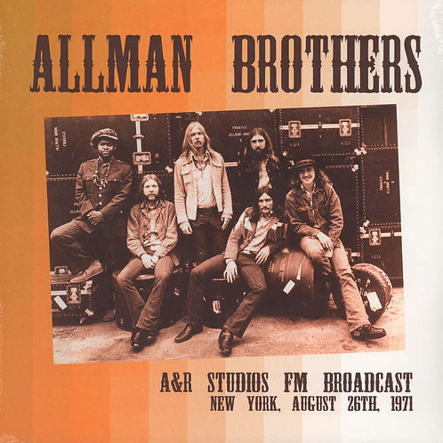 ALLMAN BROTHERS BAND 2xLP A&R Studios FM Broadcast. New York, August 26th, 1971