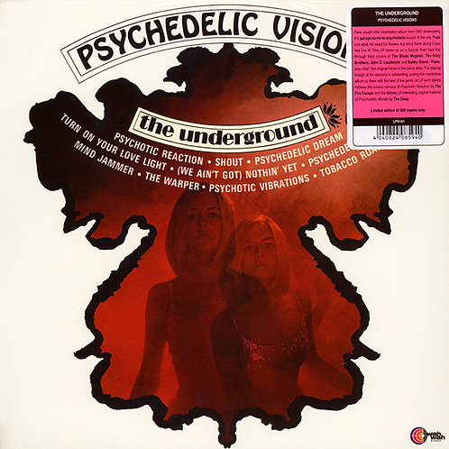 UNDERGROUND LP Electronic Music To Blow Your