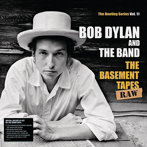 BOB DYLAN & THE BAND BOX SET 3xLP+2xCD The Basement Tapes Raw