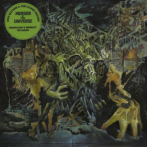 KING GIZZARD AND THE LIZARD WIZARD LP Murder Of The Universe