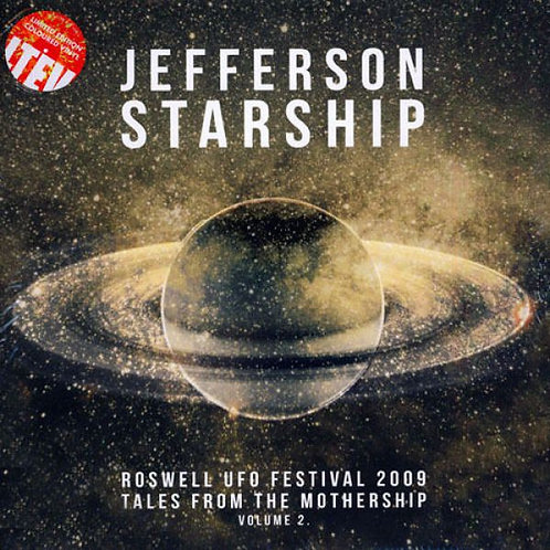JEFFERSON STARSHIP 2xLP Roswell UFO Festival 2009 - Tales From The Mothership 2